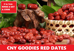Promo! Premium Big Red Dates (2.0cm to 3cm)