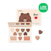 ★Missha★ ❤2019 LINE FRIENDS❤ Color Filter Shadow Palette 15g