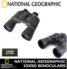 National Geographic 10x50 Binoculars New