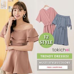 TOKICHOI - Trendy Bestseller Dress Multi Colors Multi Styles - Free Shipping