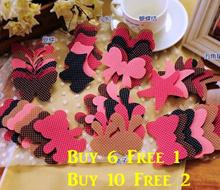 FREE GIFT Korean Fashion Cute Hair Sticker For Bang Pretty Designs Children/Teachers/Party Gifts Singapore Wholesale Seller