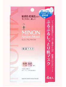 Minon Amino Moist Face Mask 4s x 22ml