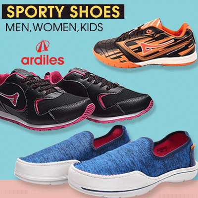 [NEW ARRIVAL] ?ARDILES? Unisex Shoes New Arrival Promo Men Women Kids Shoes Deals for only Rp129.000 instead of Rp129.000