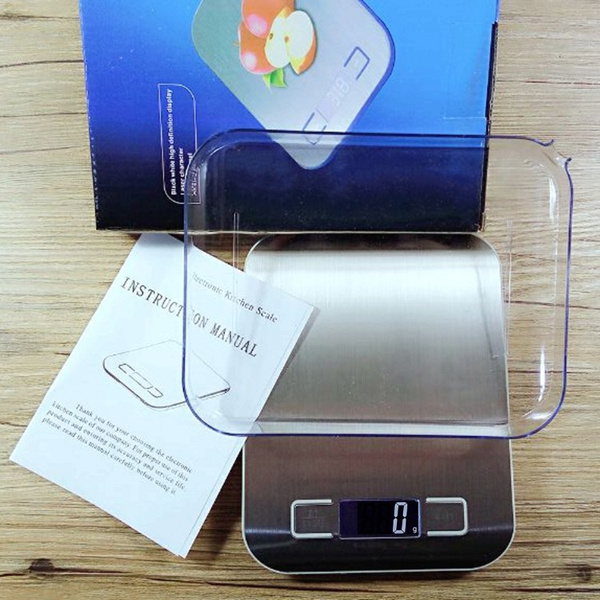 Mini Kitchen Digital Stainless Steel Platform Scale Weighing 1g Deals for only RM48 instead of RM48