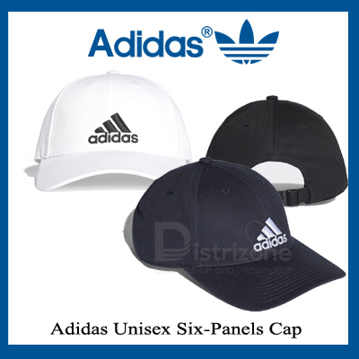 Adidas Unisex Six-Panel Cap (Black   Navy   White) 5429cb4c9c7c