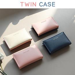 SWEET MANGO] PLEPLE Twin Case - business card holder case card wallet name card case card sleeve