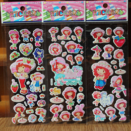 Wholesale price Children Art and Craft Activity Cute Cartoon 3D Foam Puffy Stickers / Party Goodie Bag / Reusable Collection Animal Alphabet Numbers Dress-up