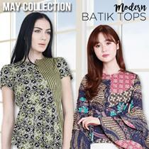 Skyrose Batik Modern Tops AllSize - Atasan Batik Wanita
