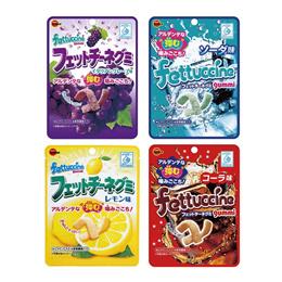 부르봉 fettuccine 4가지맛 구미 젤리