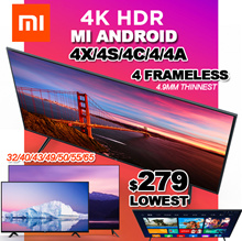 One Day❤LOWEST❤$279★ HOT SALE ★ 1 yr warranty  Xiaomi Mi TV 4X/4S/4C/4/4A 32/40/43/50/55