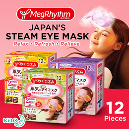 ❤️Japan Original MegRhythm Steam Eye Mask❤️Good Night Neck Pad❤️Thermal Tummy pad❤️Japan Number 1 Selling Eye Mask❤️Special Promotion❤️5th Restock❤️