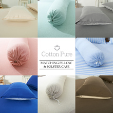 [Cotton Pure™] Pillow case and Bolster case for matching Bedsheet set