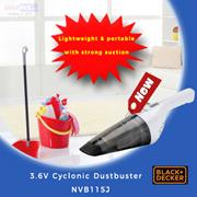 【Black and Decker】3.6V Cyclonic Dustbuster NVB115J