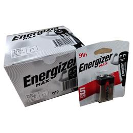 Energizer Max 9V Batteries (12 pcs/box)