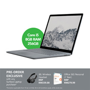 [PRE-ORDER] Microsoft Surface Laptop - Intel Core i5 | 8GB | 256GB (Platinum) MS-MIC-DAG-00095 (ETA 8 Feb 2018)