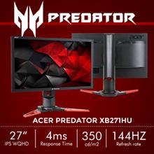 Predator XB271HU IPS Gaming Monitor- 27 Wide QHD NVIDIA G-Sync