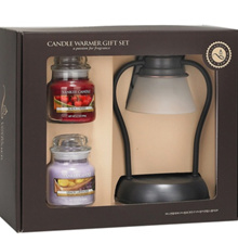 Mini Candle Warmer Set with Yankee Candle