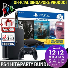 [MAKE $389+ Free Random Game] Playstation 4 Slim 500GB Hit and Party Bundle (LATEST VERSION)