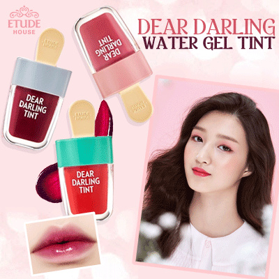Etude HouseDear Darling Water Gel tint 4.5g New 6 Color ice Cream Deals for only Rp65.000 instead of Rp65.000