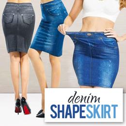 Rok Mini Jeans / Genie Shape Skirt Jeans / Denim Shape Skirt / Rok Pelangsing