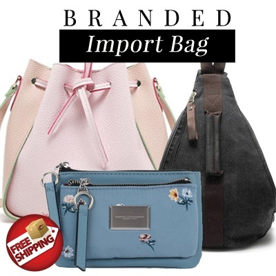 [NEW ON APRIL] Branded Import Bags Wallets Pouches Deals for only Rp89.000 instead of Rp89.000