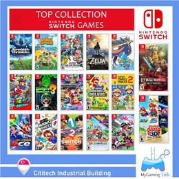 [SG]★BEST-DEAL★TOP Collection Nintendo Swtich Games / Super Mario Kart / Zelda / Smash Bros / Pokemo