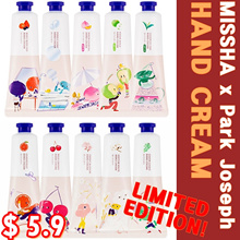 ★LIMITED EDITION★MISSHA x Park Joseph★Hand Cream★10 Types★GRAPEFRUIT/CHERRY BLOSSOM/PEACH/GREEN TEA