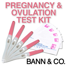 Pregnancy/Ovulation Test Kits - Early Pregnancy Test / Simple / Fast Result / High Accuracy