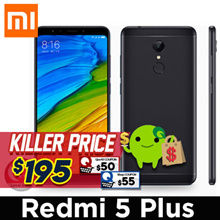 [Full Screen] Redmi 5 Plus / 5.99 inch disply/ Snapdragon 625 /Export set with 1 month warranty