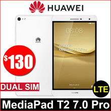 Huawei MediaPad T2 7.0 Pro // Dual SIM / 7 Inch / 16GB ROM / 2GB RAM / 4G LTE / PLE-701L / Refurbish