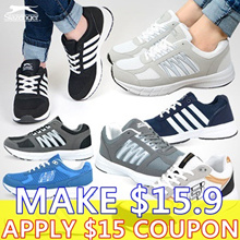 [Slazenger] ★SUPER SALE★ 2018 Collection Unisex Couple Running Shoes 100% AUTHENTIC from KOREA