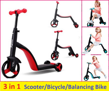 3 in 1 toddler bike for kids/ balancing bike/ Scooter/ Bicycle 2- 6 years old