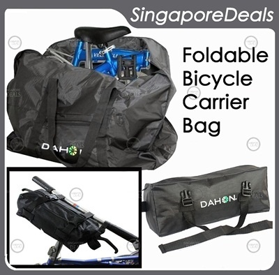 Qoo10 Gz J6 Dahon Bicycle Folding Carrier Bag For Easy Mo Sports Equipment