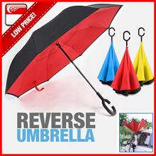 Reverse Umbrella★Car Umbrella★ C-handle★ Double layer★ Inverted umbrella★Print company Logo