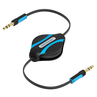 Qoo10 - Retractable Aux Cable Car Stereo Wire Audio Speaker Cord 35mm Jack Adapter Auxiliary Black DXK for Samsung Galaxy Grand Prime J1 J3 Emerge J7 Perx V ...