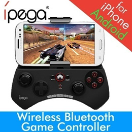 Wireless Bluetooth Game Controller BRANDED IPEGA Joystick for iPad iPhone 6 samsung HTC Smartphone Android iOS PC XIAOMI
