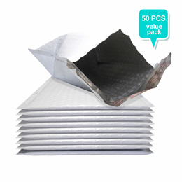 50pcs x Fullmark Polymailer Envelope with Bubble Wrap/ Padded Envelope
