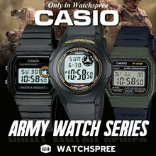 *CASIO GENUINE* ARMY WATCH SERIES. F91W F200W F94WA. Digital Sports.