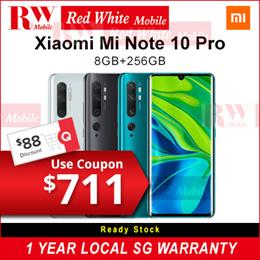 Xiaomi Mi Note 10 Pro 8/256Gb-Xiaomi Local Warranty Set