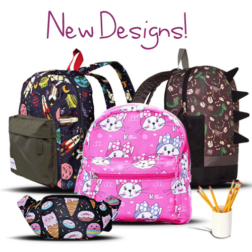 [ FREE SHIPPING JABODETABEK] NauNau Tas Ransel Anak // Kids Backpack Deals for only Rp39.000 instead of Rp79.592