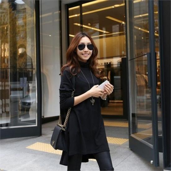 ピピン行き来するようにピピンウインダーフレアシンプルワンピース3975 綿ワンピース/ 韓国ファッション