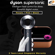 *NEW BLACK COLOUR* Dyson Supersonic Hair Dryer Black / Pink / White / 2 Years Local Dyson Warranty