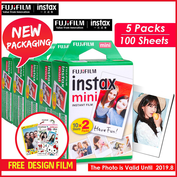 ?Fujifilm?** 200 Sheets / 10 Packs**Instax Polaroid Camera films for 7s/8/9/25/50s/90? Expiry 2019.9 Deals for only S$149 instead of S$0