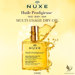 NUXE Huile Prodigieuse Multi-Usage Dry Oil (Face/Body and Hair)100ml