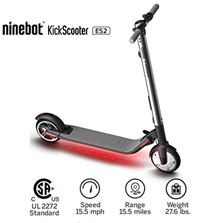 [Latest version in 2018] Ninebot 8inch ES2 folding electric kickboard / mileage: 25km / max speed: 25km / h / vehicle type: 11kg / rebound power: 10 /