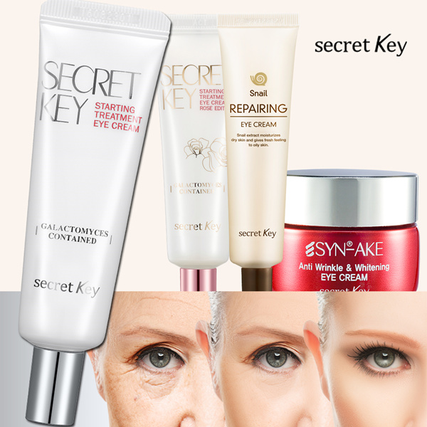 1-DAY SUPER SALE SECRETKEY EYE CREAM! Starting Treatment / Snail Repairing / Syn-ake Deals for only RM0.52 instead of RM2
