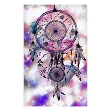 Fantasy Dream Catcher DIY Round Rhinestones Diamond Painting Cross Stitch Mosaic Art Craft Home Embr