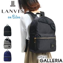 ランバンオンブルー リュック LANVIN en Bleu バッグ トロカデロ リュックサック デイパック A4 ナイロン リボン レディース 480210