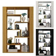 Partition Screen Multi-layer Partition Shelf Rack Bookshelf Study Bedroom Screen (VA011)
