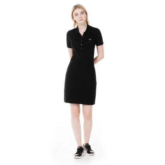 ラコステ衣類女性・ピケストレッチワンピースLCST EF847017C031 面ワンピース/ 韓国ファッション